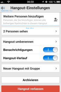 Google Hangouts Design Flaw #2